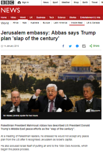 BBC claims Abbas' historical distortions and smears not 'relevant'