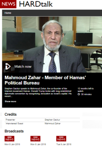 Hamas 'Hardtalk' interview rebuts BBC messaging, perpetuates inaccuracies – part one