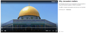 The BBC's narrative on 'East Jerusalem' omits relevant context