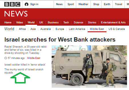 BBC News airbrushes Fatah praise from report on terror attack