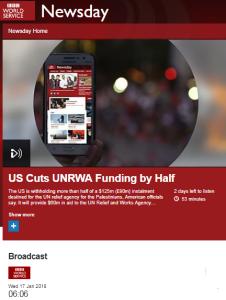 Falsehoods go uncontested on BBC World Service – part one