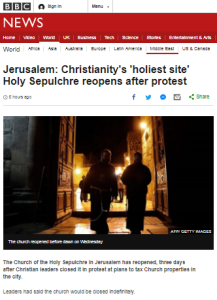 BBC News amplifies church leaders' Nazi analogy yet again