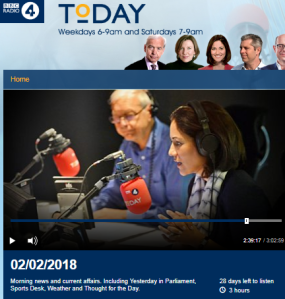 BBC R4 'Today' impartiality fail in item on Polish Holocaust bill