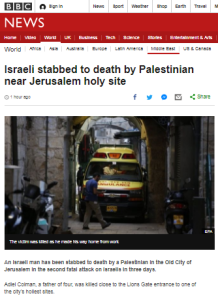 BBC News reports another fatal terror attack without the word terror
