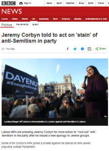 BBC News 'explanation' of antisemitism promotes the Livingstone Formulation