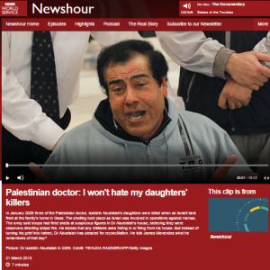 BBC WS 'Newshour' erases context from revisited Gaza story