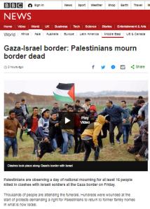 BBC again fails to adequately clarify Hamas' role in Gaza border agitprop
