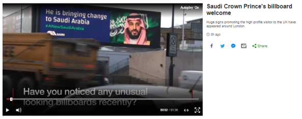 BBC News highlights a PR campaign but fails to supply background