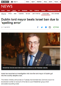 BBC News uses 'Israel says' instead of fact checking