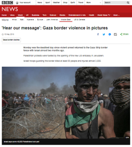 BBC News makes a story disappear by changing photo captions