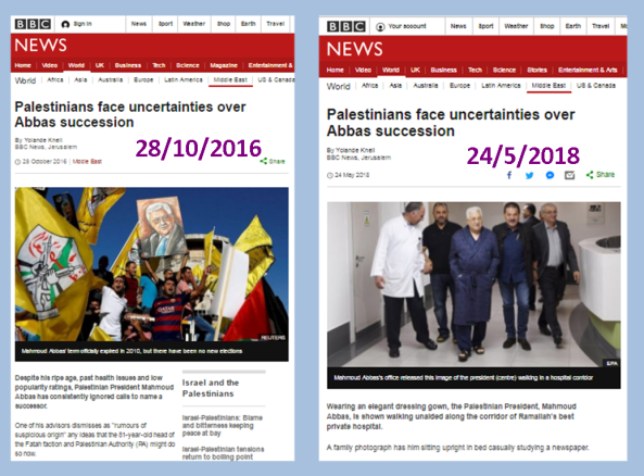 BBC website recycles article, ignores anti-Israel image