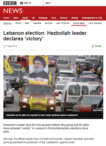 BBC News promotes Hizballah's lexicon and a false narrative