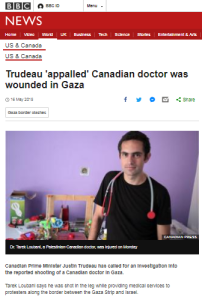 BBC again amplifies Gaza claims from political activist medic