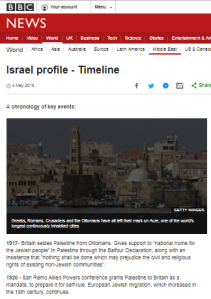 BBC updates Israel profile with Hamas supplied data