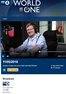Inaccuracy and omission from 'parachuted' BBC Radio 4 presenter in Jerusalem