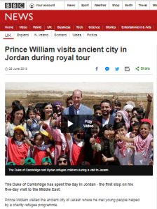 BBC R4's 'Today' forces Brexit and Gaza into royal visit report
