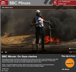 A 'BBC Minute' backgrounder misleads on Palestinian refugees
