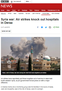 BBC News ignores Israeli aid to displaced Syrians