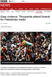 BBC News website ignores most of renewed Gaza rocket fire