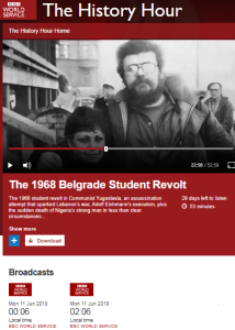 BBC World Service history show recycles one inaccuracy and adds more