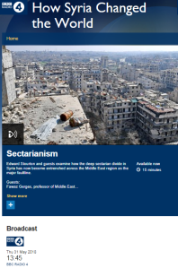 BBC Radio 4 reframes last month's Iranian attack on Israel