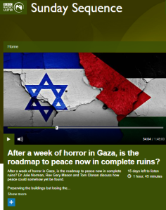 Inaccuracy, omission and oddity in a BBC Radio Ulster item on Israel – part one