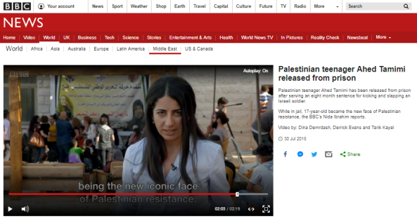 One sided reports from BBC Arabic's Nida Ibrahim – part two