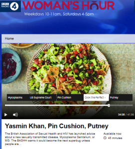 Inaccuracies, politicised framing and salad on BBC R4 'Woman's Hour'