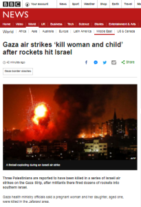 More amendments made to BBC's online Gaza rocket attacks report