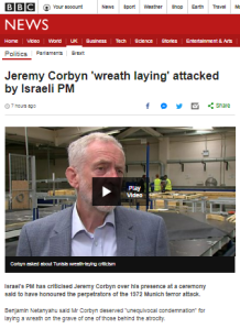 Over a third of BBC website's Corbyn wreath laying report allocated to denials