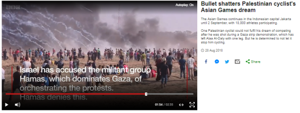 BBC tries to erase Hamas' role in 'Great Return March' violence