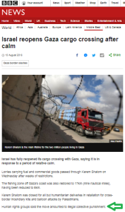 The glaring omission in the BBC's portrayal of Gaza truce negotiations