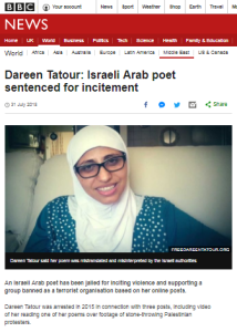 BBC double standards in reporting social media incitement evident again