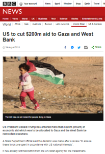 BBC News report on US aid cut excludes relevant context