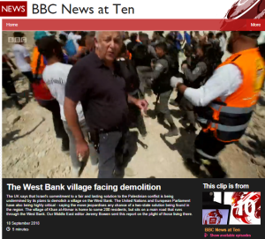 BBC's ME editor continues his 'Bedouin village' narrative – part one