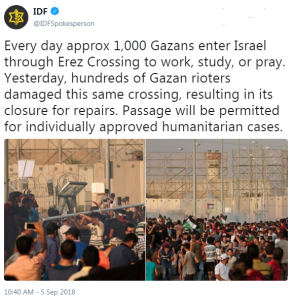 BBC silent on Gaza crossing closure