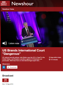 Context lacking, inaccuracies let slide in BBC WS coverage of PLO mission closure