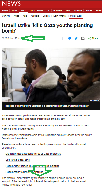 Why did the BBC News website erase an accurate statement?