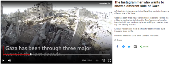 BBC News' 'different side' to Gaza is much of the same