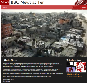 Mishal Husain does 'life in Gaza' for BBC One TV