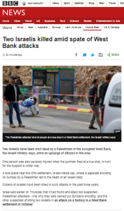 More BBC reporting on terror against Israelis without use of the word terror