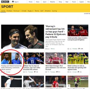 BBC Sport ignores anti-Israel bigotry yet again