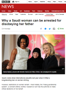 BBC's Saudi women's rights reports fall short