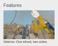 BBC Arabic's tendentious Hebron feature – part one