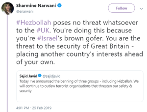 The BBC 'expert' contributor and the UK Hizballah designation