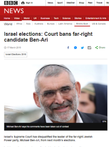 BBC News tells only part of an Israeli elections story