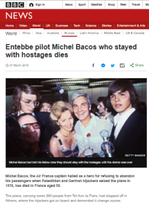 BBC amends inaccurate claim about Entebbe hijacking
