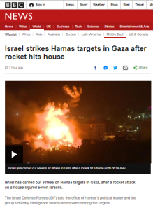 BBC unquestioningly amplifies unsubstantiated Hamas claims