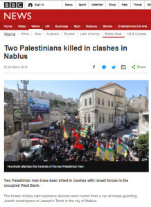 BBC News glosses over repeated Palestinian violence at holy site