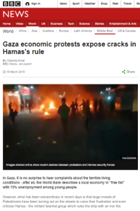 A BBC Jerusalem reporter's framing of protests against Hamas – part two